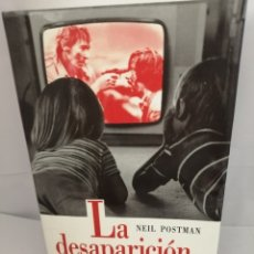 Livres d'occasion: LA DESAPARICIÓN DE LA NIÑEZ DE NEIL POSTMAN. Lote 205649092