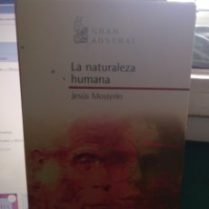 Libros de segunda mano: JESÚS MISTERIO. LA NATURALEZA HUMANA. GRAN AUSTRAL 2006. Lote 205674795
