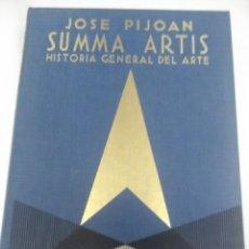 Libros de segunda mano: SUMMA ARTIS. VOL. I. ARTE PUEBLOS ABORÍGENES. PIJOAN. 1980. 8 ED.. Lote 205711036