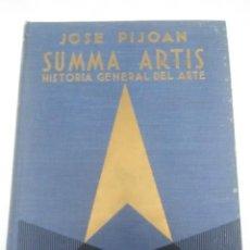 Libros de segunda mano: SUMMA ARTIS. VOL. XI. ARTE GÓTICO... PIJOAN. 1971. 5 ED.. Lote 205713090
