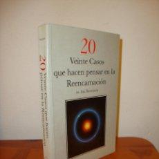 Libros de segunda mano: VEINTE CASOS QUE HACEN PENSAR EN LA REENCARNACIÓN - DR. IAN STEVENSON - MUY BUEN ESTADO. Lote 205713095
