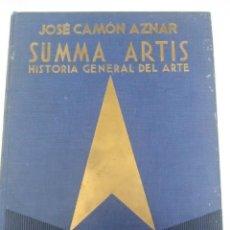 Libros de segunda mano: SUMMA ARTIS. VOL. XXV. PINTURA ESPAÑOLA SIGLO XVII. AZNAR. 1977. 1 ED.. Lote 205714317