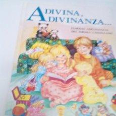 Libros de segunda mano: ADIVINA ADIVINANZA FAMOSAS ADIVINANZAS DEL IDIOMA CASTELLANO. EDIT. SUSAETA. EST2B4. Lote 205727732