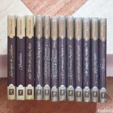 Libros de segunda mano: COLECCIÓN COMPLETA 12 TOMOS AVENTURAS EMILIO SALGARI - EDICIONES RUEDA 2004 - BUEN ESTADO PRECINTADO. Lote 205776607