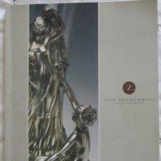 Livres d'occasion: CATALOGO SUBASTA ARTÍCULOS ESPECIALES DE WMF EN DICIEMBRE DE 2001, GALERÍA VON ZEZSCHWITZ, ALEMANIA.. Lote 205802317