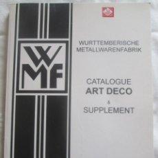 Livres d'occasion: CATALOGO DE PRODUCTOS WMF ESTILO ART DECO FABRICADOS HASTA 1926.. Lote 205803808