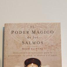 Libros de segunda mano: EL PODER MAGICO DE LOS SALMOS - MAGO ELIPHAS. Lote 205804762