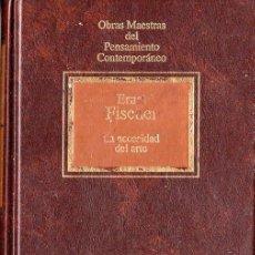 Libros de segunda mano: LA NECESIDAD DEL ARTE (ERNST FISCHER). Lote 205865155