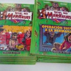 Libros de segunda mano: LOTE DE 9 LIBROS. TODOS MIS MONSTRUOS. THOMAS BREZINA. EST2B3. Lote 205883377