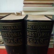 Libros de segunda mano: DICCIONARIO DE HISTORIA DE ESPAÑA. 2 TOMOS. REVISTA DE OCCIDENTE 1952. Lote 206141773