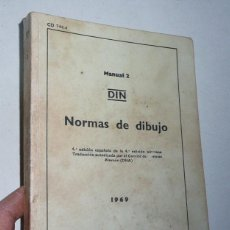Libros de segunda mano: NORMAS DE DIBUJO - MANUAL 2 - DIN (EDITORIAL BALZOLA, 1969). Lote 206203643