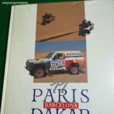 Libros de segunda mano: PARIS BARCELONA DAKAR , 1989 , LIBRO OFICIAL TSO. Lote 206209328