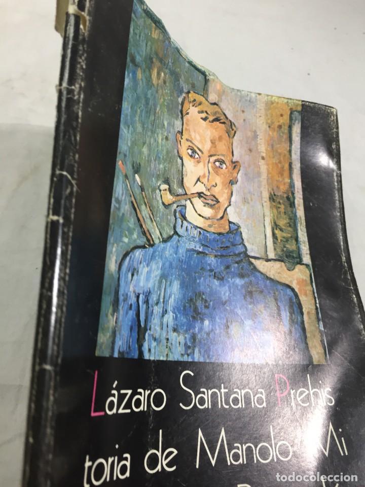 Libros de segunda mano: Prehistoria de Manolo Millares. Lázaro SANTANA. San Borondón. El Museo Canario CSIC. 1974 Las Palmas - Foto 2 - 206215841