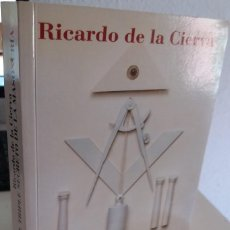 Libros de segunda mano: EL TRIPLE SECRETO DE LA MASONERÍA - DE LA CIERVA, RICARDO. Lote 206219776