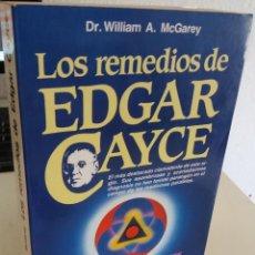 Libros de segunda mano: LOS REMEDIOS DE EDGAR CAYCE - GAREY, DR. WILLIAM A.. Lote 206221528