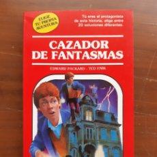 Libros de segunda mano: CAZADOR DE FANTASMAS. TIMUN MAS. ELIGE TU AVENTURA. Lote 206233905