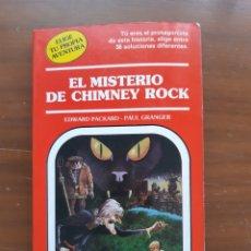 Libros de segunda mano: EL MISTERIO DE CHIMNEY ROCK. TIMUN MAS. TU AVENTURA. Lote 206234065