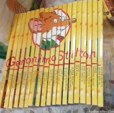 Libros de segunda mano: LOTE GERÓNIMO STILTON. Lote 206234120