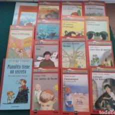 Libros de segunda mano: 15 TÍTULOS LITERATURA INFANTIL Y JUVENIL. Lote 206247521