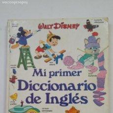 Libros de segunda mano: MI PRIMER DICCIONARIO DE INGLÉS - WALT DISNEY. PLAZA JOVEN JANES EDICIONES. TDK197. Lote 206261115