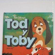 Libros de segunda mano: TOD Y TOBY. WALT DISNEY'S PRODUCTIONS. MONTENA. TDK197. Lote 206262808