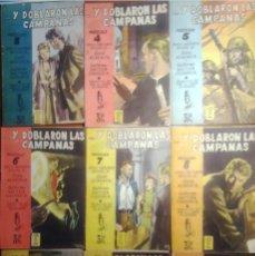 Libros de segunda mano: Y DOBLARON LAS CAMPANAS : NOVELA RADIOFÓNICA ORIGINAL / LUISA ALBERCA Y GUILLERMO SAUTIER CASASECA. Lote 206270632
