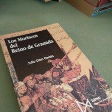 Libros de segunda mano: LOS MORISCOS DEL REINO DE GRANADA. JULIO CARO BAROJA. Lote 206287228