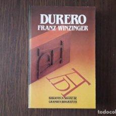 Libros de segunda mano: LIBRO USADO, DURERO, FRANZ WINZINGER. BIBLIOTECA SALVAT. Lote 206287356