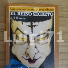 Libros de segunda mano: EL REINO SECRETO - LA BÚSQUEDA DEL GRIAL 5 (J. H. BRENNAN) LIBRO JUEGO ALTEA. Lote 206296426
