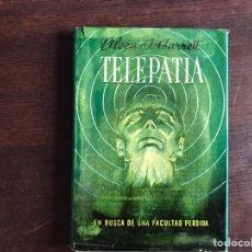 Libros de segunda mano: TELEPATÍA. EILEEN J. GARRET. Lote 206304682