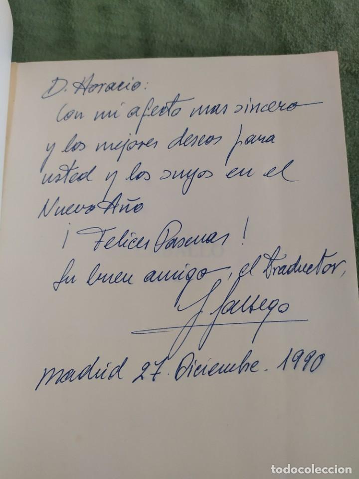 Libros de segunda mano: 1990. El caballo, cría y manejo. Dedicado por el traductor (Catedrático). - Foto 3 - 206367830