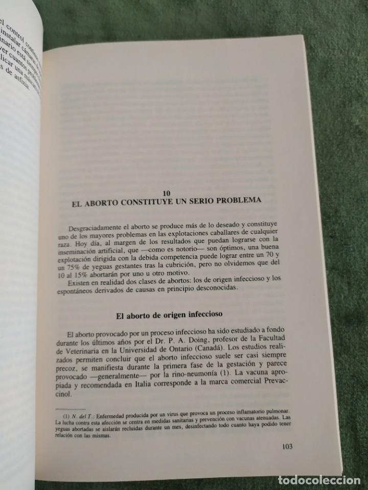 Libros de segunda mano: 1990. El caballo, cría y manejo. Dedicado por el traductor (Catedrático). - Foto 9 - 206367830