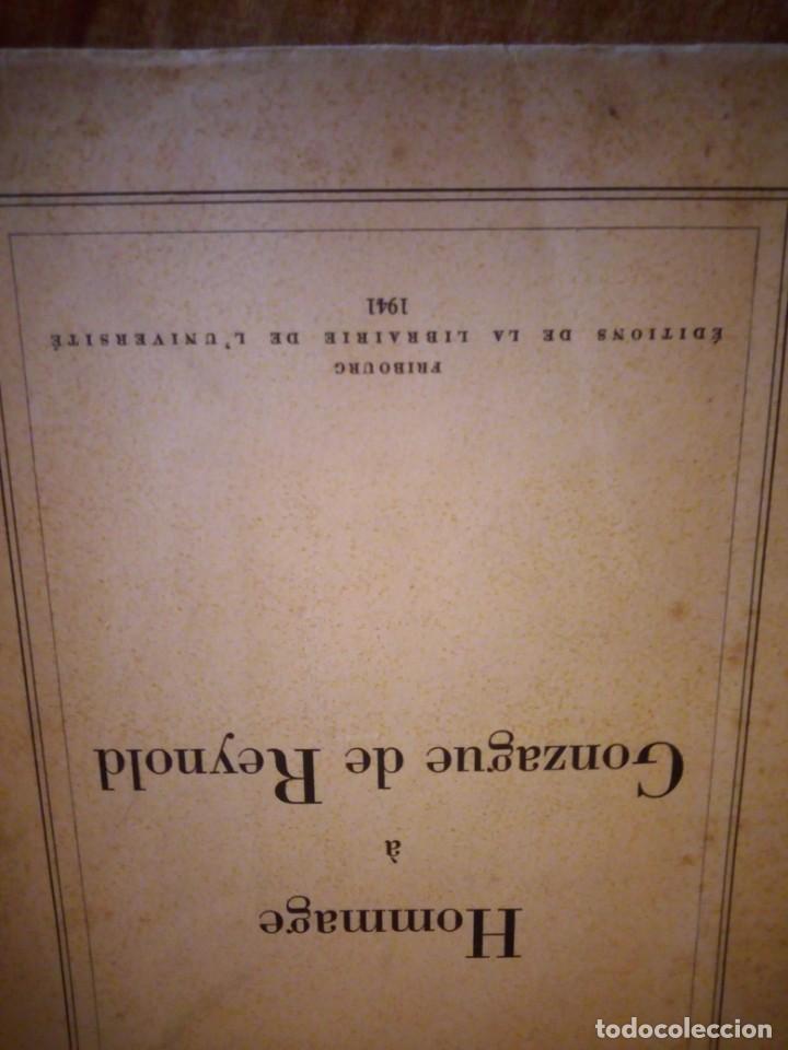 Libros de segunda mano: hommage a gonzague de reynold,fribourg 1941 - Foto 2 - 206369731