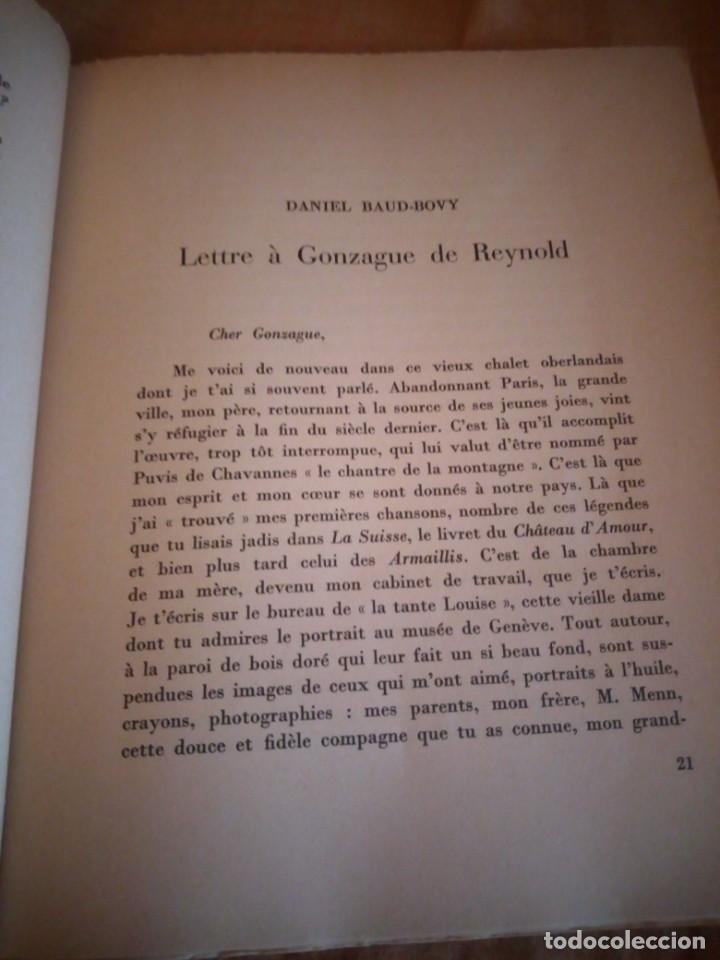 Libros de segunda mano: hommage a gonzague de reynold,fribourg 1941 - Foto 7 - 206369731