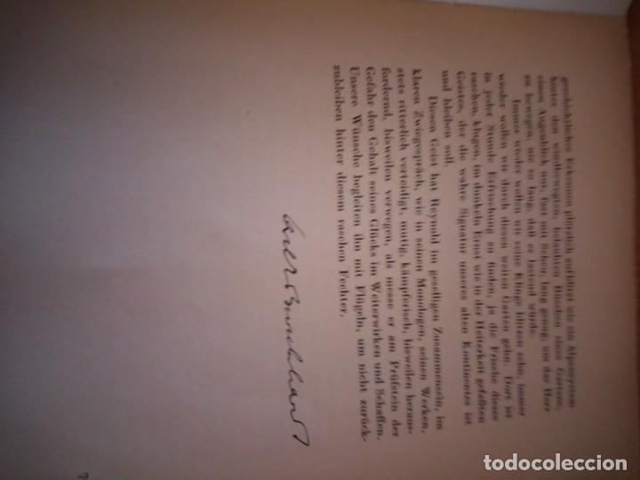 Libros de segunda mano: hommage a gonzague de reynold,fribourg 1941 - Foto 9 - 206369731