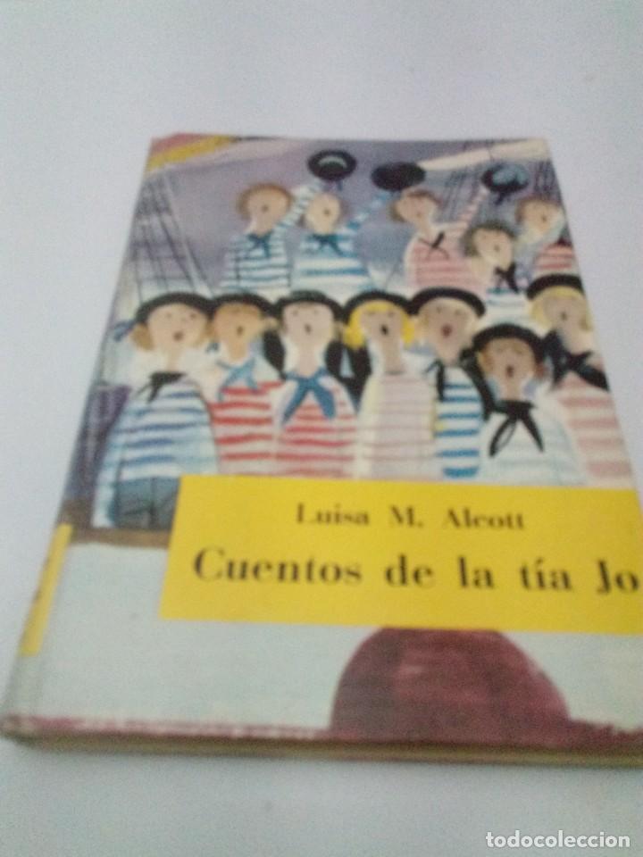 CUENTOS DE LA TÍA JO. LUISA M. ALCOTT. ES21B4 (Libros de Segunda Mano (posteriores a 1936) - Literatura - Otros)