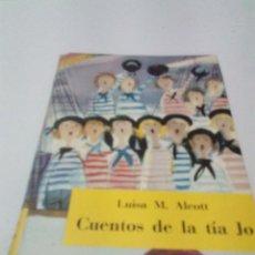 Libros de segunda mano: CUENTOS DE LA TÍA JO. LUISA M. ALCOTT. ES21B4. Lote 206388590