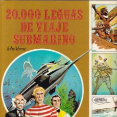 Libros de segunda mano: 20.000 LEGUAS DE VIAJE SUBMARINO - JULIO VERNE - EDICIONES AFHA 1980. Lote 206427526