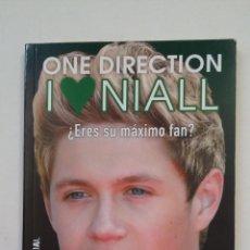 Libros de segunda mano: ONE DIRECTION. I LOVE NIALL. ¿ERES SU MAXIMO FAN? LIBRO JUEGOS. TDK189. Lote 206434661