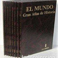 Libros de segunda mano: EL MUNDO GRAN ATLAS DE HISTORIA - GEOFFREY BARRACLOUGH - EBRISA, S. A.. Lote 206446572