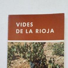 Libros de segunda mano: VIDES DE LA RIOJA. MINISTERIO DE AGRICULTURA. TDK181. Lote 206470752