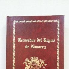 Libros de segunda mano: RECUERDOS DEL REYNO DE NAVARRA. ANTIGÜEDADES. PARTE II. FACSIMIL. JOSE DE MORET. TDK224. Lote 206471243