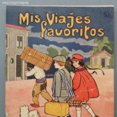 Libros de segunda mano: MIS VIAJES FAVORITOS - LIBRETA PARA COLOREAR Nº 5 - RAMÓN SOPENA EDITOR. Lote 206487107