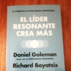 Libros de segunda mano: EL LIDER RESONANTE CREA MÁS. Lote 206501325