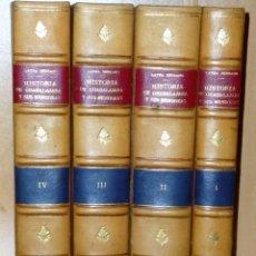 Libros de segunda mano: HISTORIA DE GUADALAJARA Y SUS MENDOZAS EN LOS SIGLOS XV Y XVI. 4 TOMOS. Lote 206505462