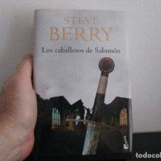 Libros de segunda mano: LOS CABALLEROS DE SALOMON STEVE BERRY. Lote 206505577