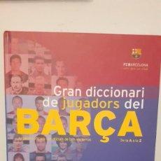 Libros de segunda mano: BARÇA. GRAN DICCIONARI DE JUGADORS DEL BARÇA.. Lote 206509888