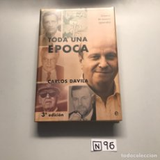 Libros de segunda mano: TODA UNA ÉPOCA. Lote 206512301