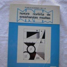 Libros de segunda mano: PUBLICACIONES DE LA NUEVA REVISTA DE ENSEÑANZAS MEDIAS. LA TECNICA EN LA ENSEÑANZA Nº 3. Lote 206517115