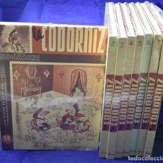 Libros de segunda mano: LA CODORNIZ. 8 TOMOS (COMPLETA). Lote 205664085